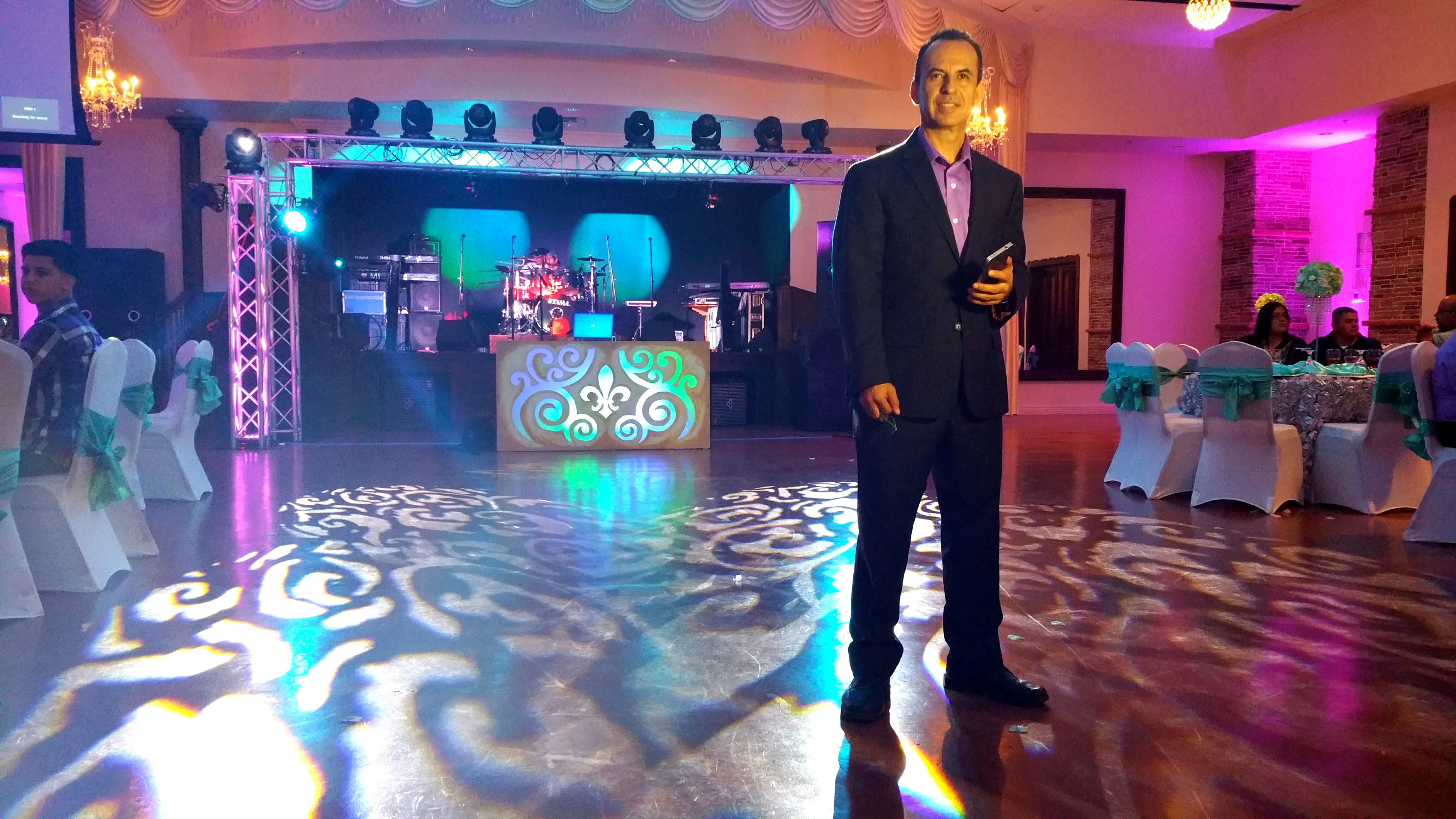 Hector LaRotta - Houston Memorable Events. HD Video, DJ Entertainment and EMCEE, Decor Lighting and Photo Booth