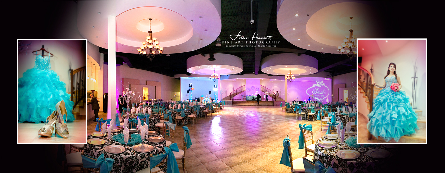 Small elegant hall in hoiston tx - Vip La Fontaine Quinceaneras Juan Huerta Photography