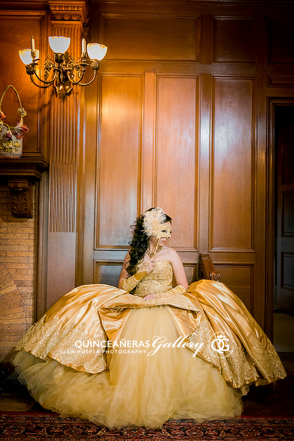 Quinceaneras Masquerade Theme Photography Portrait PreSession